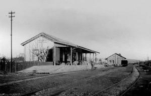 Portão Estação Ferroviaria 1929