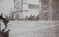 Porto Alegre 3 Batalhão Parada posse do Presidente Borges de Medeiros 15-01-1918