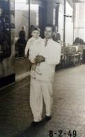 Porto Alegre Ageu Kehrwald e seu Pai Galeria Chaves 08-02-1949