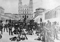Porto Alegre Aglomeração de Revolucionários Revolução de 30 déc1930