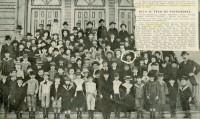Porto Alegre Alunos Escola Brasileira em 1901