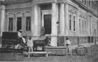 Porto Alegre Ambulância puxada por mulas