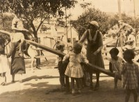 Porto Alegre Lazer em praça pública déc1930 3