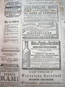 Propaganda Óleo de Fígado de Bacalhau