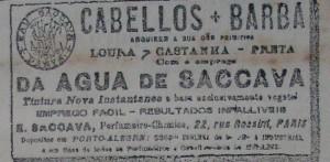 Propaganda Cabellos Barba 1901