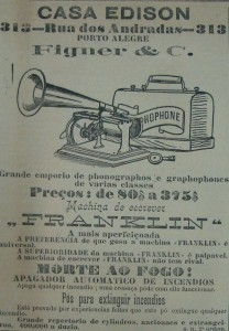 Propaganda Casa Edison 1901