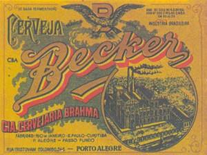 Propaganda Cervejaria Becker 1