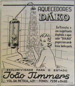 Propaganda Revista do Globo 1940