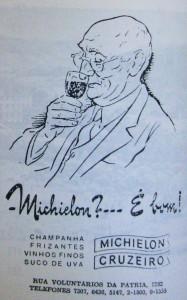 Propaganda Revista do Globo Michelon 1940