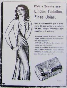 Propaganda Sabonete Limol