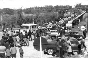 Quaraí Inauguração Ponte da Concordia unindo Quaraí-Artigas-Uruguai(acervo Emerson Siqueira)