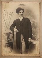 Virgílio Calegari enviada seu ex aluno e amigo Domingos Mancuso 1910