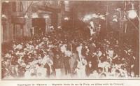 Porto Alegre Rua da Praia(Rua dos Andradas) Carnaval(Mascara) 1921