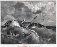 Giussepe Garibaldi Naufragio del Riopardo sul lago di Tamaridi