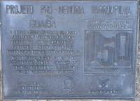 Guaíba placa comemorativa 150 anos da Revolução Farroupilha