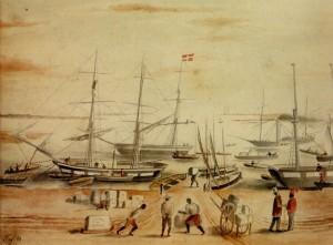 Rio Grande Cais 1852