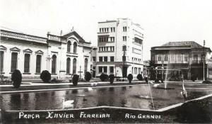 Rio Grande Postal Praça Xavier Ferreira