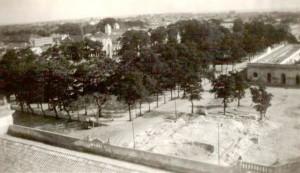 Rio Grande Terreno construção do edifício da Câmara de Comércio