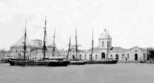 Rio Grande cais do porto 1889