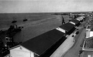 Rio Grande porto velho e armazéns déc1920