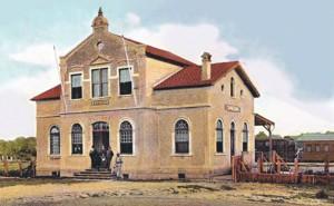 Santa Cruz Estação Férrea 1906 ( acervo Ronaldo Fotografia )