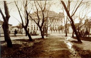 Santa Cruz do Sul Pelotas Banco Pelotense Esquina da Praça Getúlio Vargas(hoje Quiosque da Praça(acervo Jonas CL)