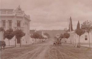 Santa Cruz do Sul Rua Mal Floriano esquina Rua Júlio de Castilhos(acervo Jonas CL)