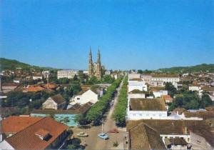 Santa Cruz do Sul Vista(acervo Derli Baltasar Castagna Paim) déc1970