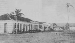 Santa Cruz do Sul esquina Marechal Floriano e Ramiro Barcellos 1890