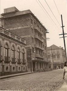 Santa Maria Hotel Jantzen em construção(acervo Jonatas Vargas)