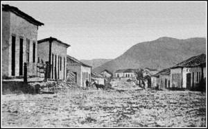 Santa Maria Rua do Acampamento(primeira da cidade)