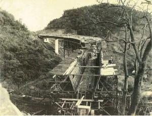 Santa Maria ponte da Garganta do Diabo déc1950