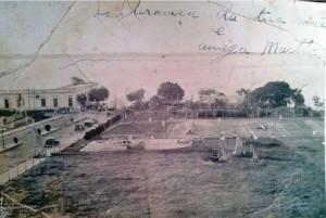 Uruguaiana Tênis Clube Usina de energia Rio Uruguai Rua Duque de Caxias(acervo Mariglai Costa )