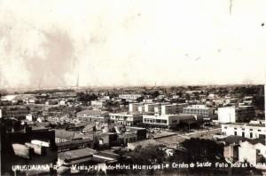 Uruguaiana Vista parcial da cidade(acervo Mauro Moleda) 1965