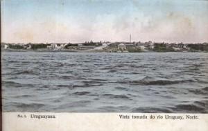 Uruguaiana Vista tomada do Rio Uruguai