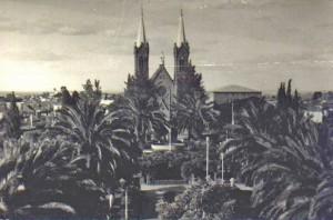 Vacaria Praça General Daltro Filho(acervo Cristina Paim de Lima) 1970