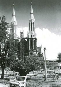 Venâncio Aires Igreja Matriz São Sebastião Mártir(acervo Jonas Cervi Luzzani) déc1950
