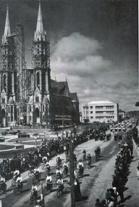 Venâncio Aires Igreja Matriz São Sebastião Mártir(acervo Jonas Cervi Luzzani) déc1950 (1)