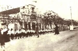 Viamão Desfile Colégio Stella Maris Rua Coronel Marcos de Andrade