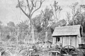 Aratiba (Rio Novo) Colonização Moinho de Ricardo Boff 1920