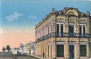 Bagé Postal Casa Prati(acervo Museu Gruppelli-Colônia Municipal-enviada por Margareth Vieira)