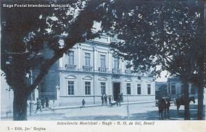 Bagé Postal Intendência Municipal