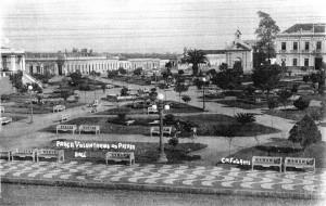 Bagé Praça Voluntários da Pátria