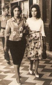 Bagé Zenaide Lacerda e cunhada