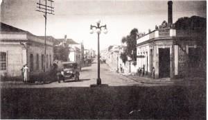 Cachoeira do Sul Rua Sete de Setembro com Rua Presidente Vargas déc1930
