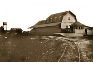 Canela Estação férrea 1925(acervo Ronaldo Fotografia)
