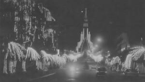 Canela Natal Luz noite