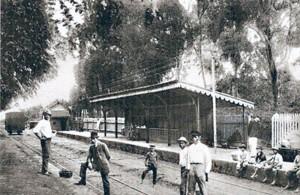 Canoas Estação Férrea( acervo Ronaldo Fotografia ) 1900