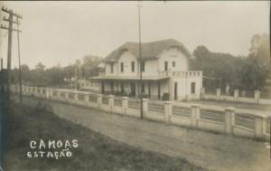 Canoas Estação do trem(acervo Suzana Morsch)