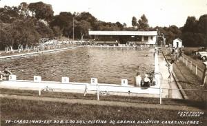 Carazinho Piscina do Grêmio Aquático de carazinhense, 1960